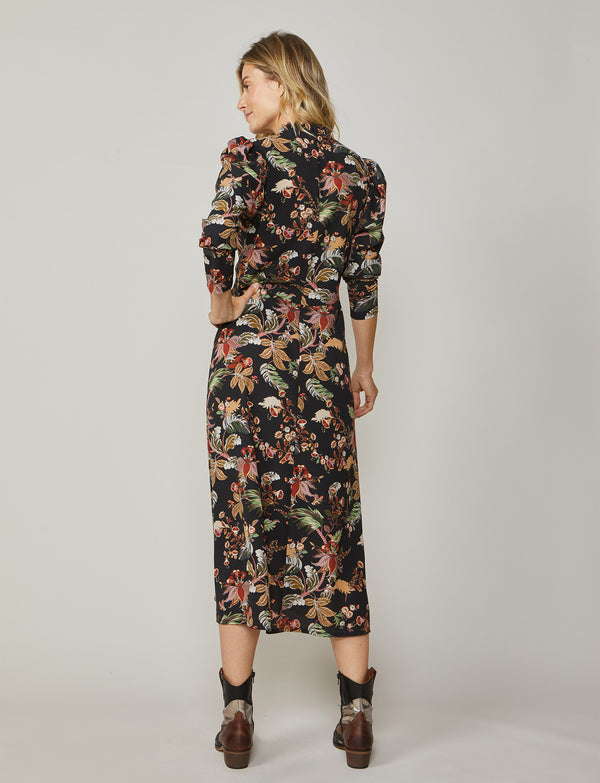 Summum Flower Print Dress