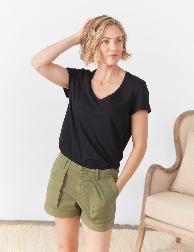 Tee Lab Essential Scoop Tee