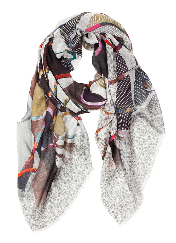 Tilo Abstract Dream Scarf