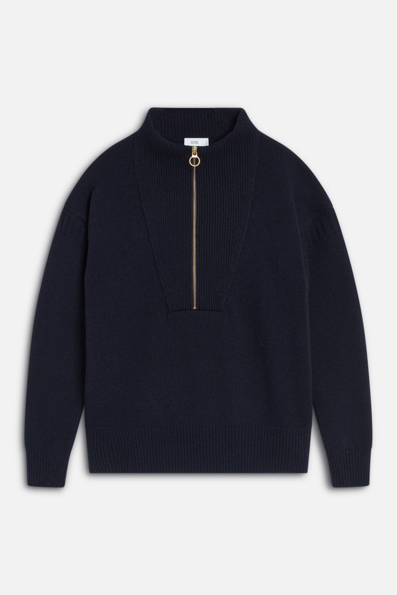 Closed Henley Sweater