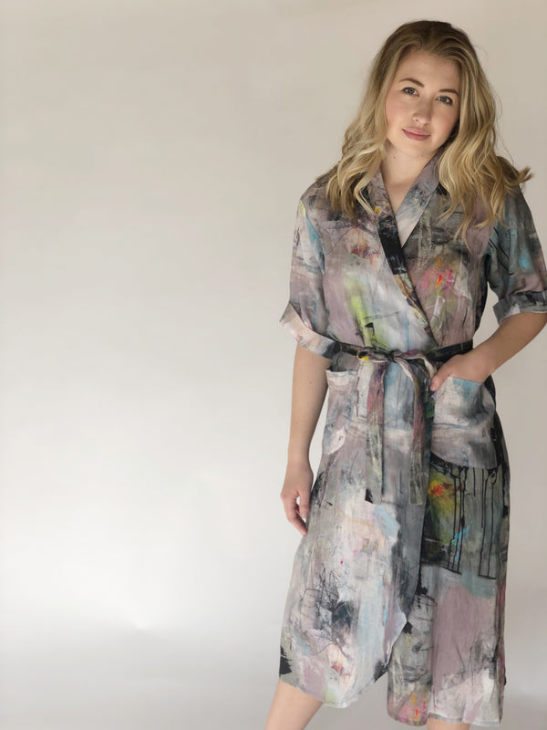 Bitte Kai Rand Artist Wrap Dress