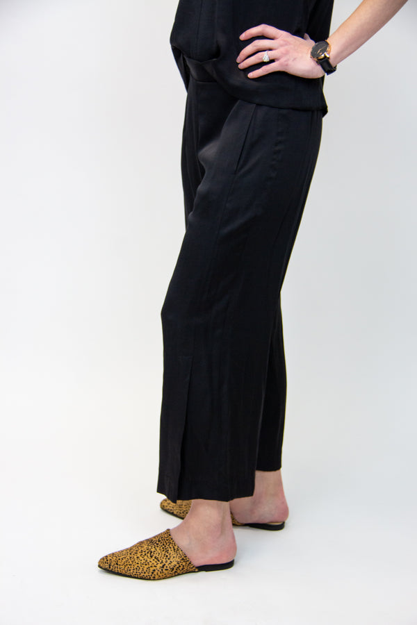 Kal Rieman Satin Side Kick Pant