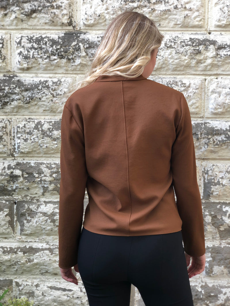 Back of top on model.