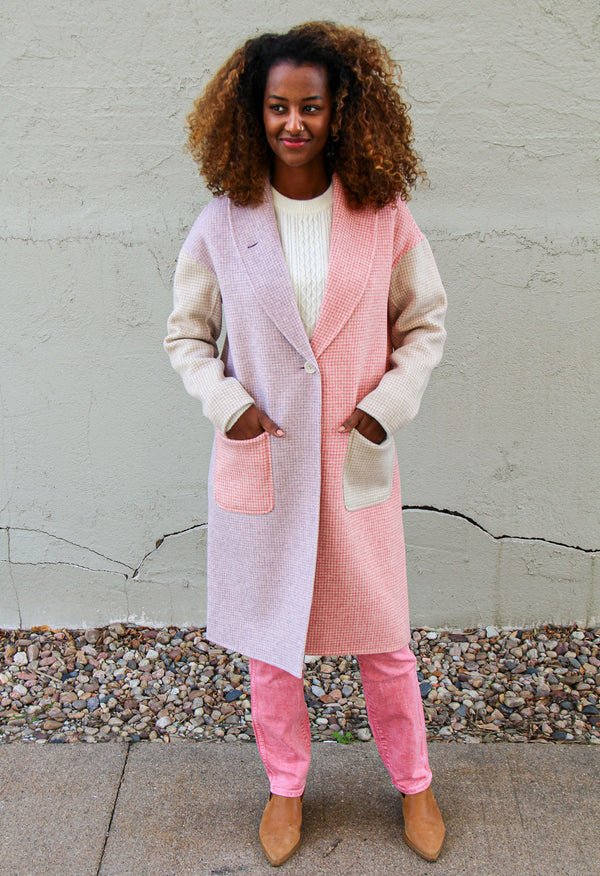 VEDA Cedar Double Faced Wool Coat