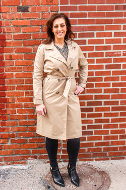 Suncoo Emma Trench Coat
