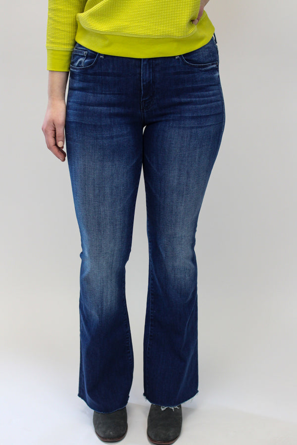 Mother Weekender Fray Jeans