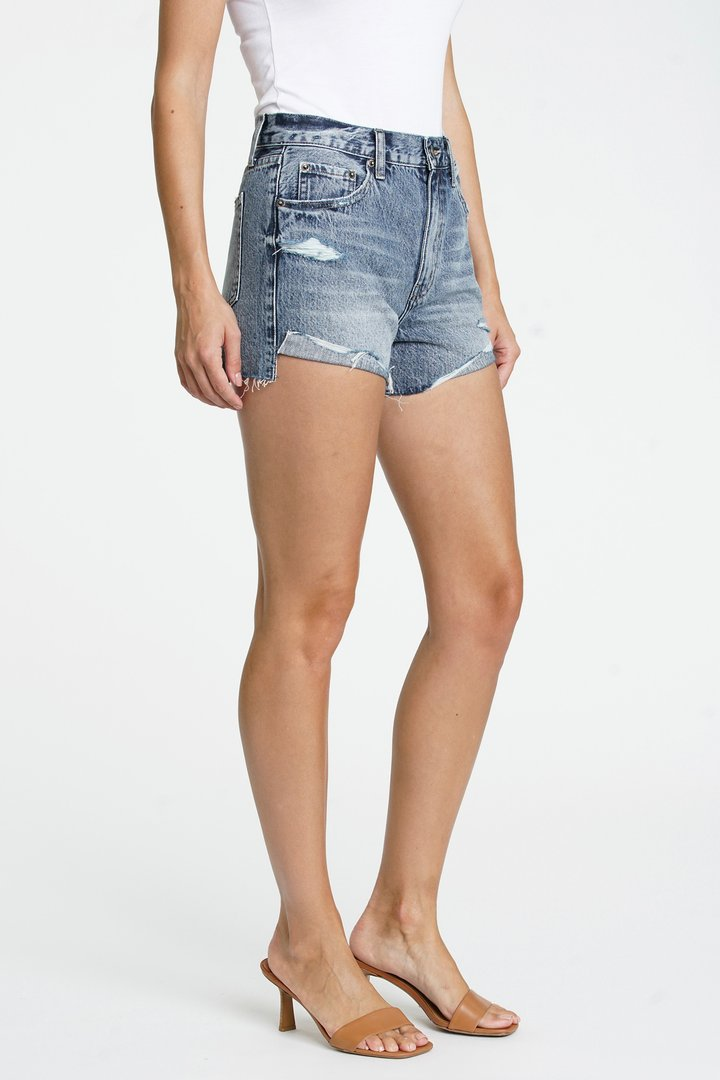 Side view of shorts.