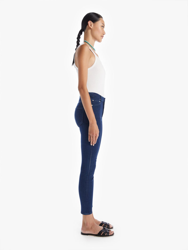 Mother High Waisted Looker Ankle Jean