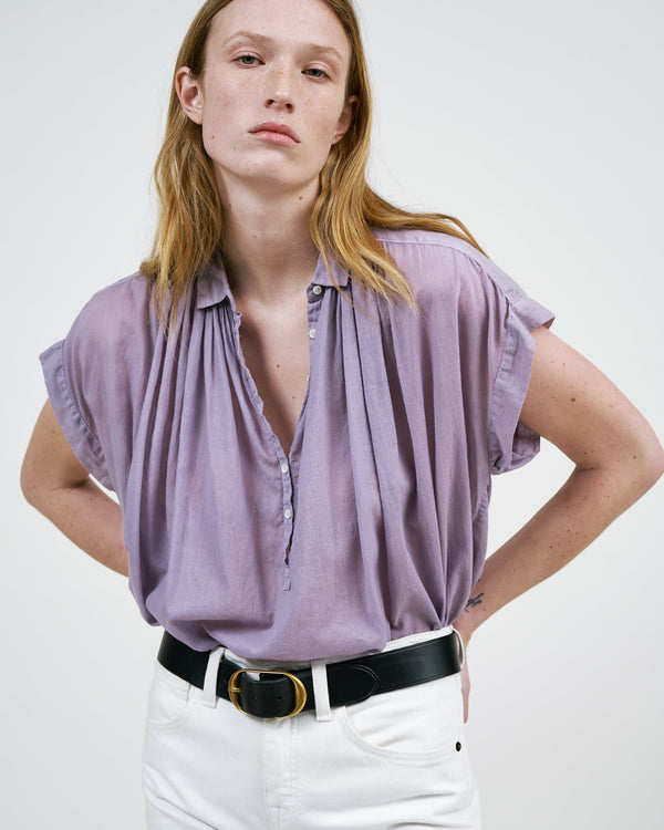 Front of blouse.