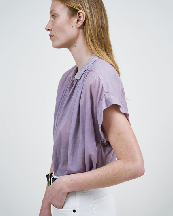 Side view of blouse.