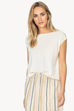 Lilla P Short Sleeve Easy Top
