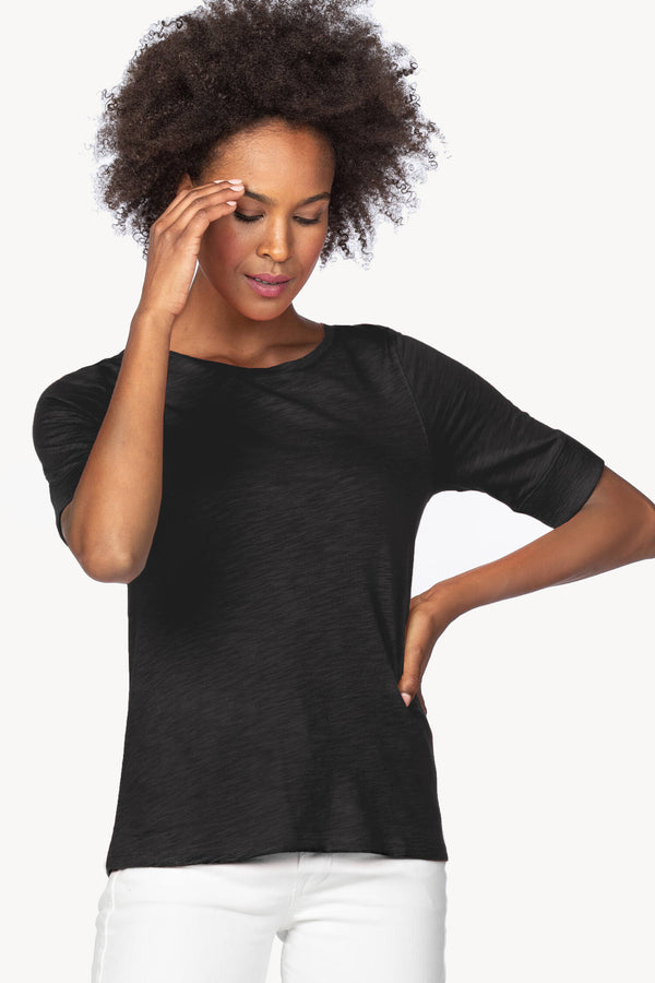 Lilla P Elbow Sleeve Tee