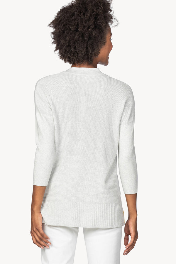 Lilla P Shawl Collar Tunic Sweater