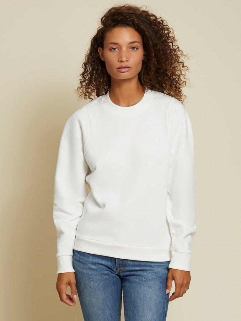 Nation LTD Pamela Darted Shoulder Sweatshirt