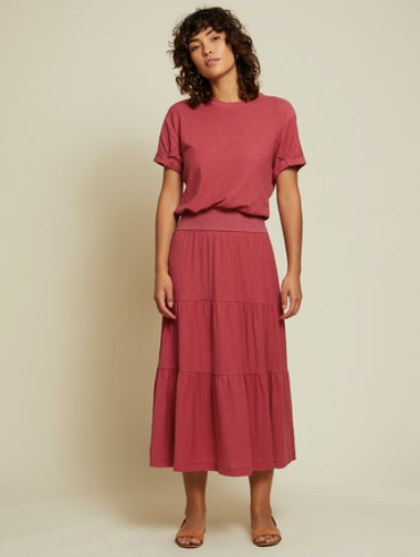 Nation LTD Martine Casual Peasant Dress
