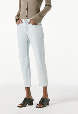 Frame Le Garcon Crop Raw Edge Jean