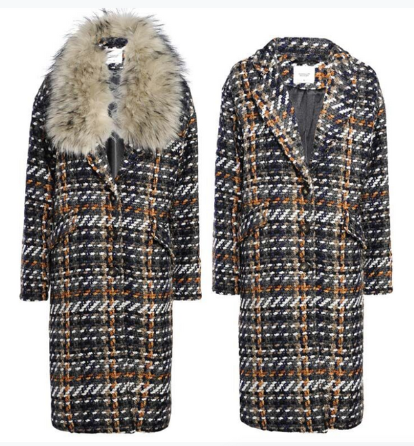 Summum Heavy Check Coat