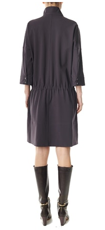 Tibi Bond Stretch Zip Front Dress