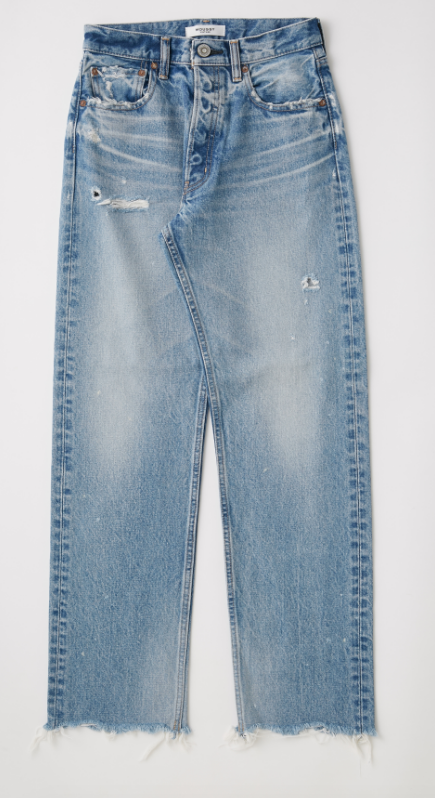 Moussy Lomita Wide Straight Jean