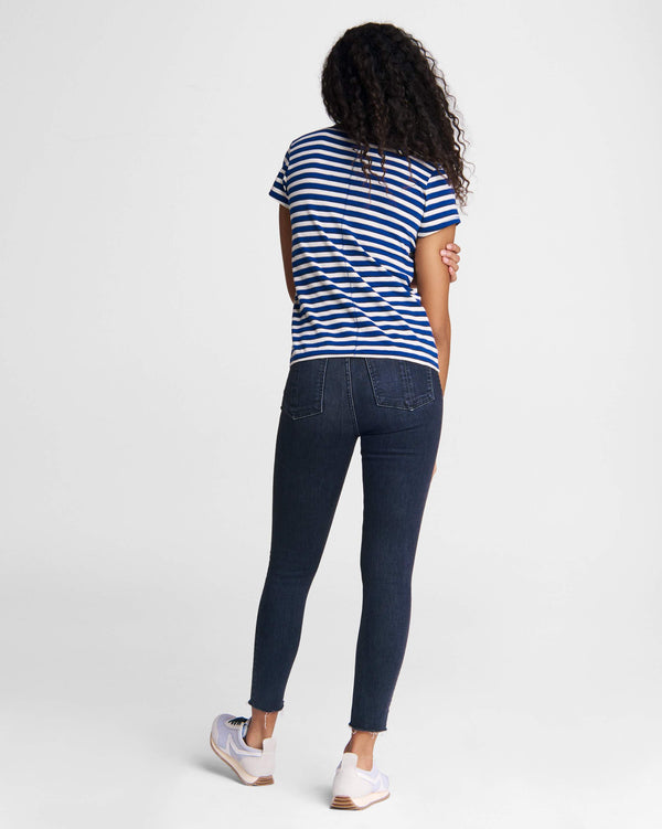 Rag & Bone Slub Striped Tee
