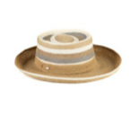 Photo of hat on white background.