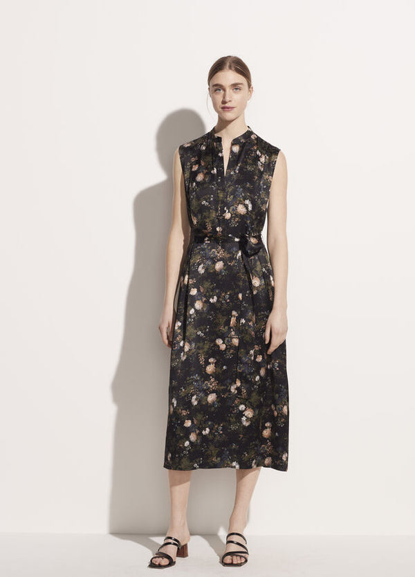 Vince Rose Field Popover Dress