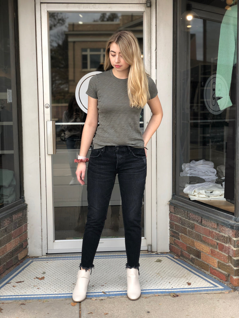 Moussy Staley Tapered Jean