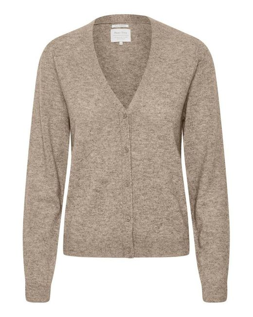 Front of cardigan on white background.