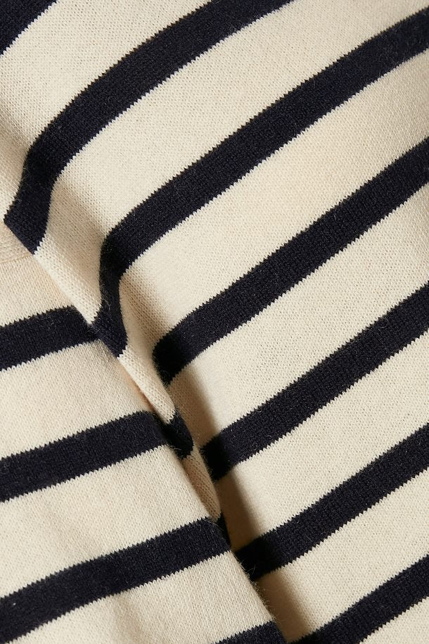 Close up on stripes.