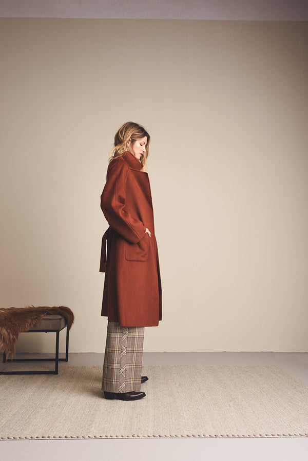 Summum Wool Coat