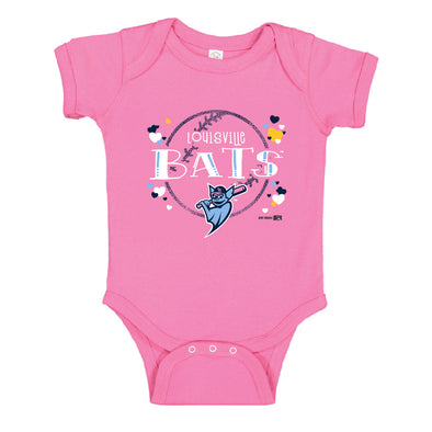Pink Infant Lap Shoulder Creeper