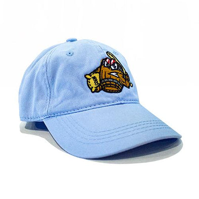 Louisville Bats Light Blue Mashers Adjustable Cap