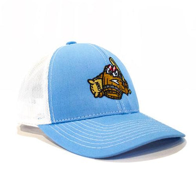 Louisville Bats Light Blue Mashers Trucker Cap