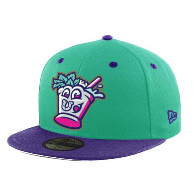 Louisville Bats 5950 Mint Juleps On-Field Cap