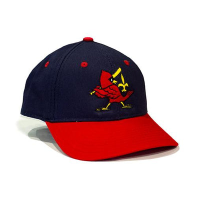 Louisville Bats Throwback Redbirds Alternate Adjustable Cap