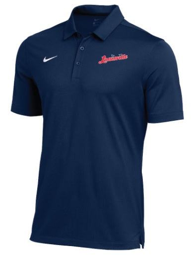 Navy Nike Louisville Men's Polo
