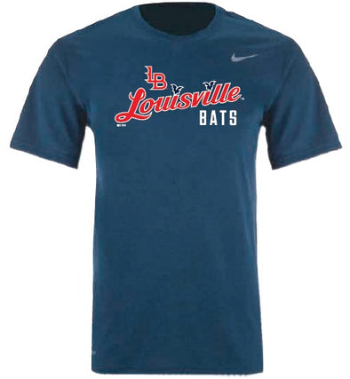 Navy Nike Men's Dri-Fit Tee