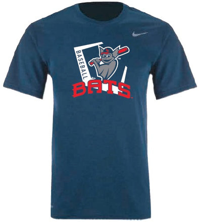 Navy Youth Nike Bats Dri-Fit