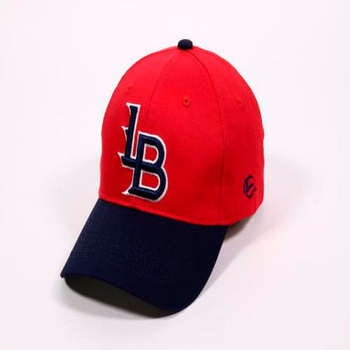 Louisville Bats Adult Infielder Cap Structured Red