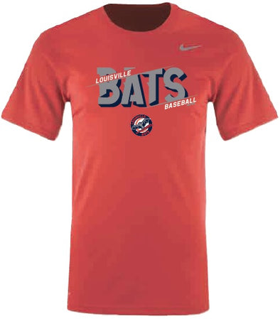 Red Youth Nike Bats Dri-Fit
