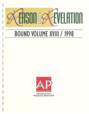 Reason & Revelation Bound Volume 1998