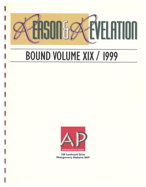 Reason & Revelation Bound Volume 1999