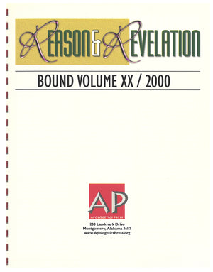 Reason & Revelation Bound Volume 2000