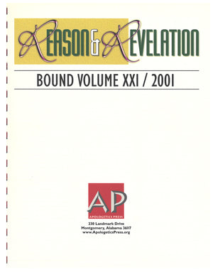 Reason & Revelation Bound Volume 2001