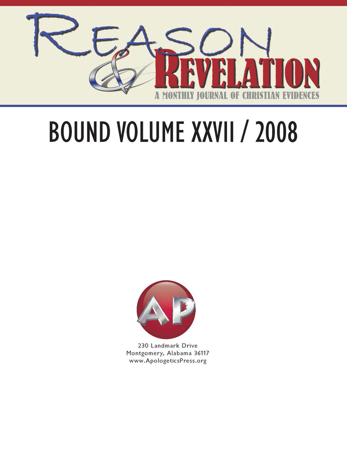 Reason & Revelation Bound Volume 2008