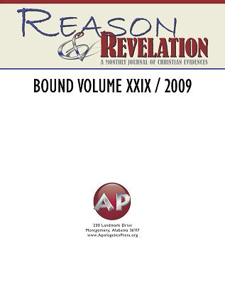Reason & Revelation Bound Volume 2009
