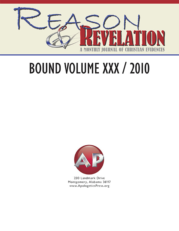Reason & Revelation Bound Volume 2010