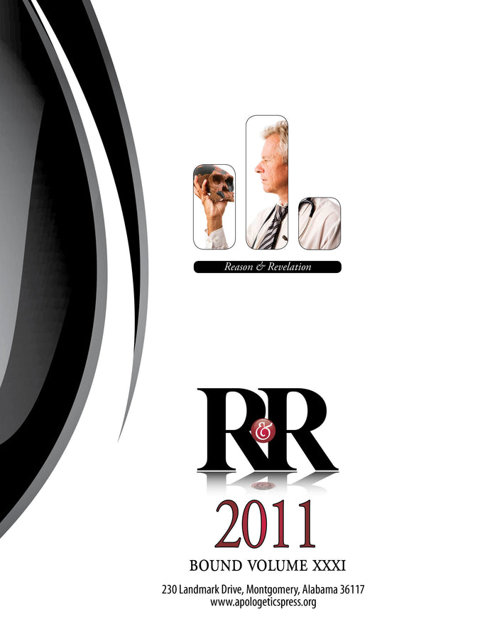 Reason & Revelation Bound Volume 2011