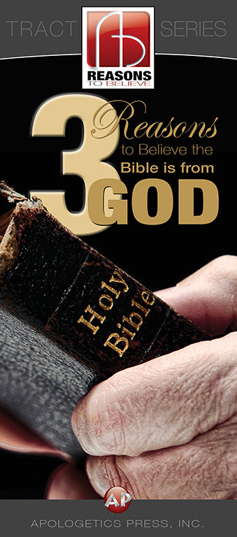 3 Reasons to Believe the Bible is from God