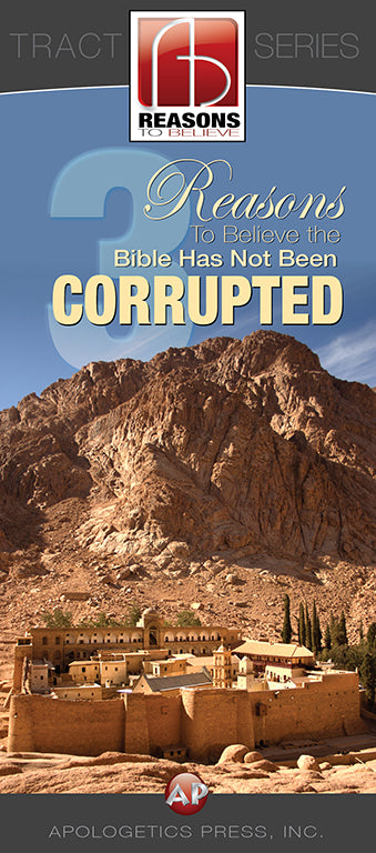 3 Reasons to Believe the Bible Has Not Been Corrupted